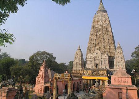 印度菩提伽耶正觉塔园