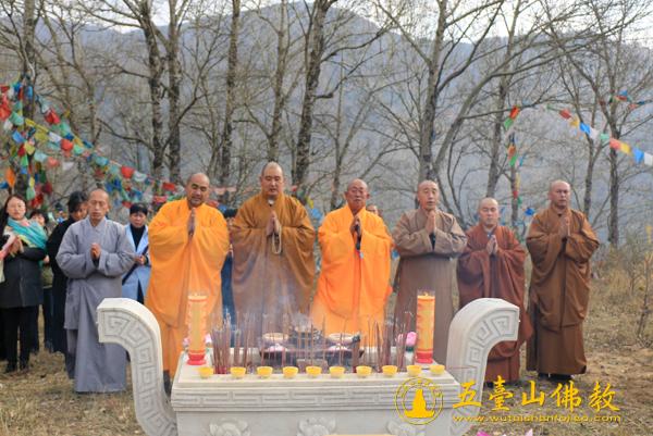 纪念禧钜老和尚往生十周年千僧法会在山西五台山显通寺隆重举行图片