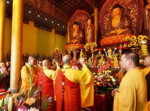 广东雷州天宁寺隆重举行开光庆典 明生大和尚出席主法