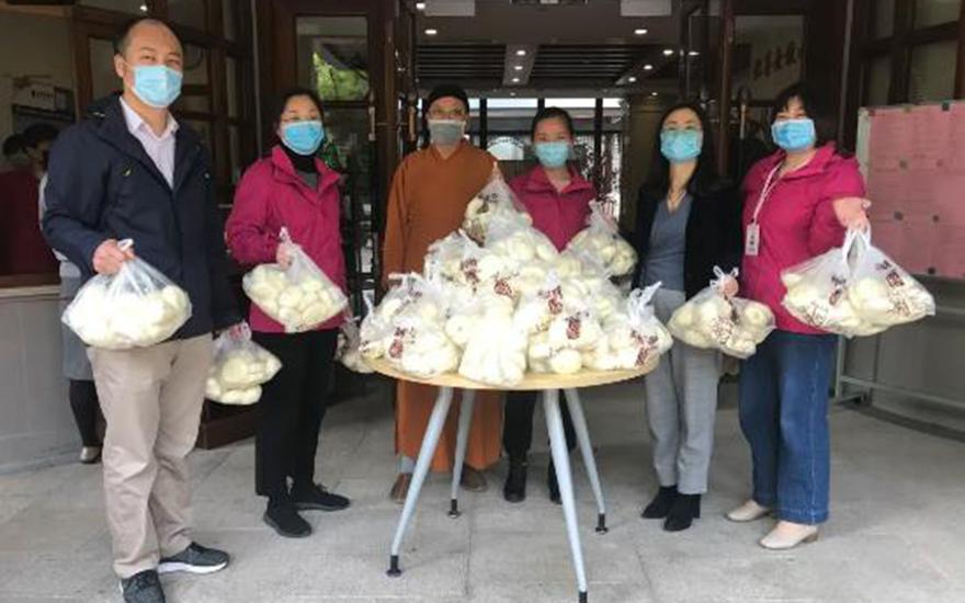 《【摩登官方登陆】上海宁国禅寺素斋馆即将开放,首批素食结缘养老院》