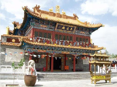 大昭寺 呼和浩特 内蒙古寺院