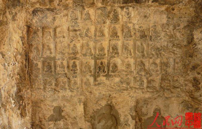 定襄县七岩山佛教遗址—忻州市—山西寺院